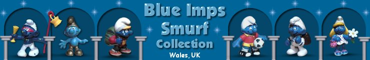 Smurfs At Blue Imps Smurf Collection