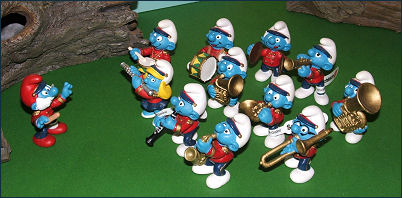 2002 Smurfs - Marching Band