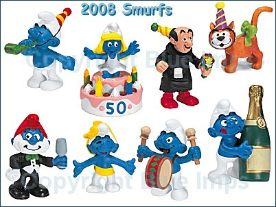 2008 Smurfs - 50th Anniversary Party Theme