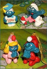 Fake expensive smurfs