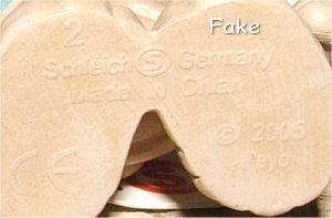 "Fake ""Made In Chian"" Marking"