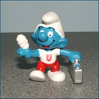 First release of the Maltese promo smurf - 2003