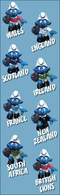 Rugby Smurfs